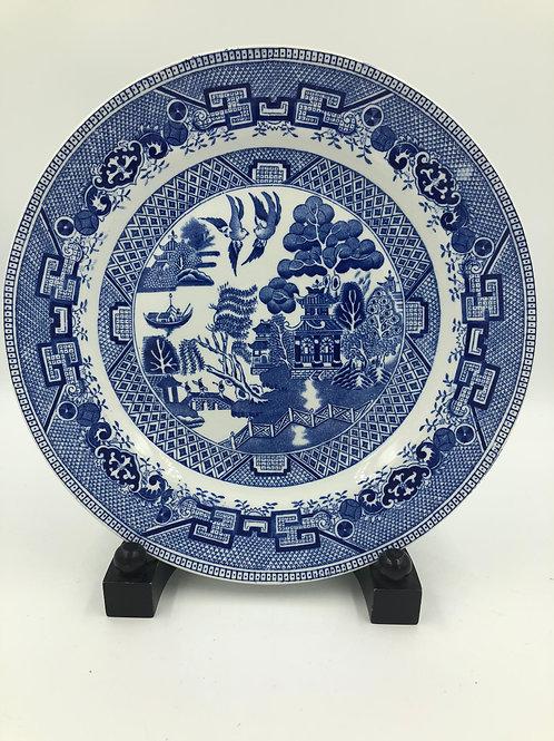 Blue Willow Dinner Plates (11)