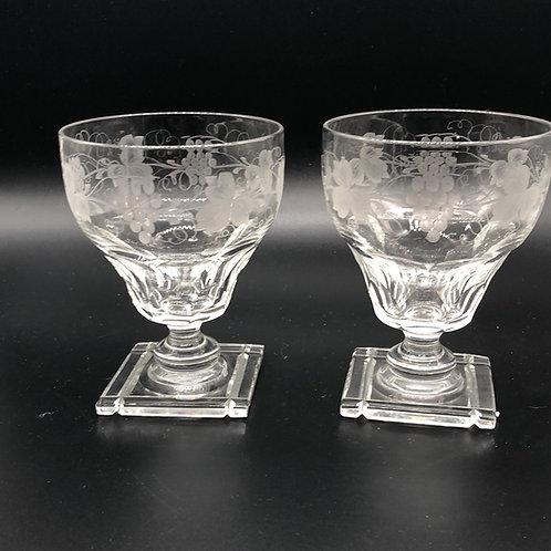 Stuart Crystal Parfait Glasses (2)