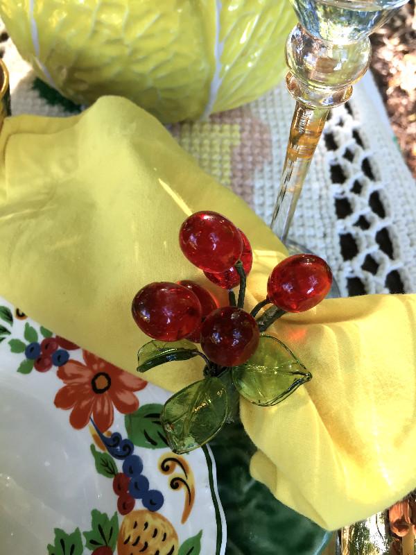 Table Glamour Napkin Ring