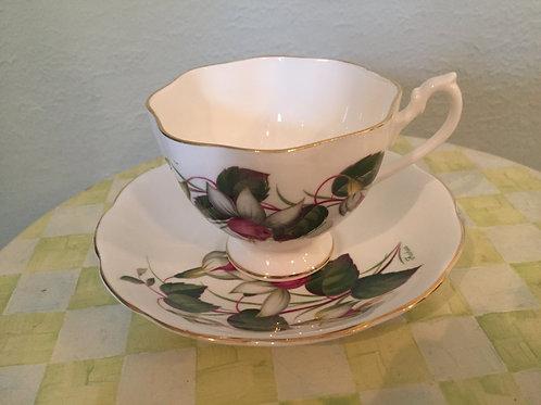 Queen Anne Fuchsia Teacup