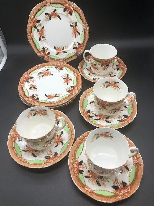 A B J & Sons Tea Set (12 pieces)
