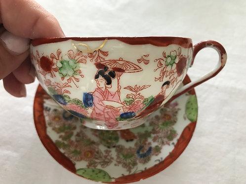 Geisha Girl Cup & Saucer