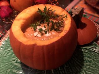 [ Carve a Pumpkin for Soup ]