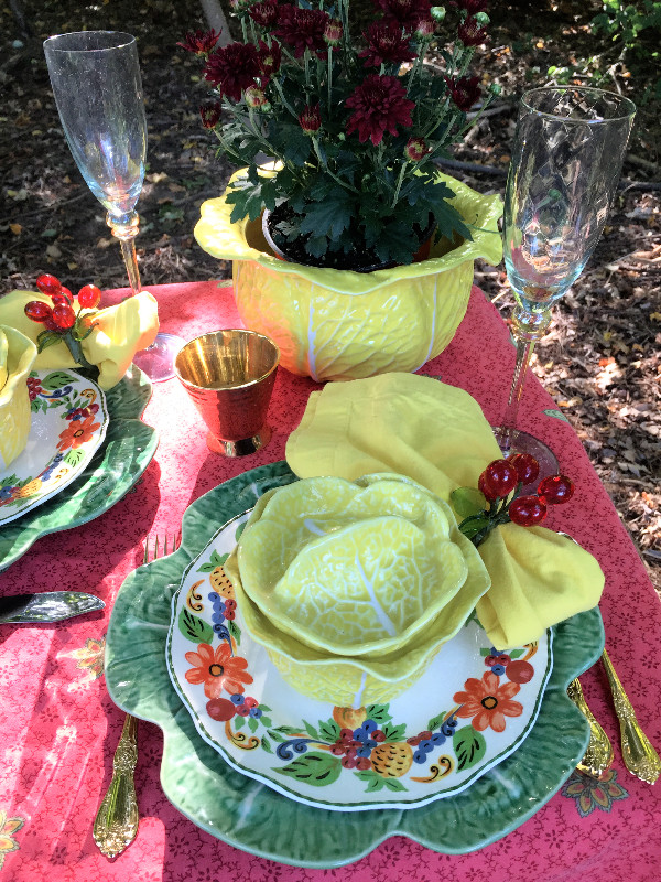 Table Glamour Table Setting