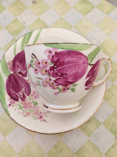 H&M Sutherland Pink Tulip Tea Cup