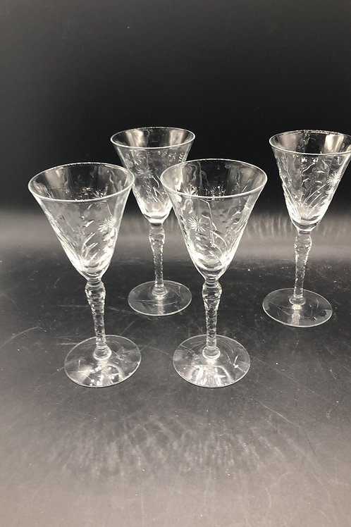 Cordial Glasses (4)