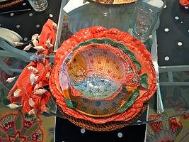 Tablescape Costal Fish theme