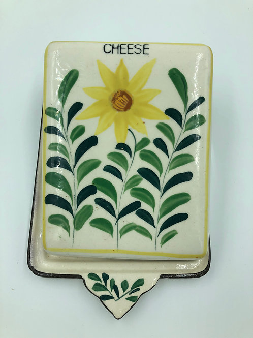 Retro Covered Cheese Dish