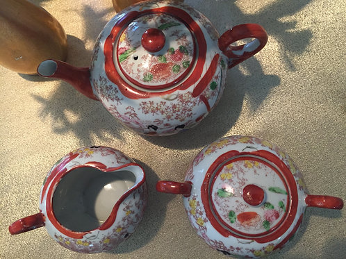 Geisha Girl Tea Set