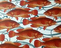 Tablescape Fish paper placemats