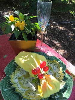 Fall Leaf Ceramic Plate