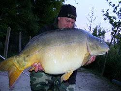 Tony Browett is the Current Record-Holder | 49lb 8oz Carp May 2013