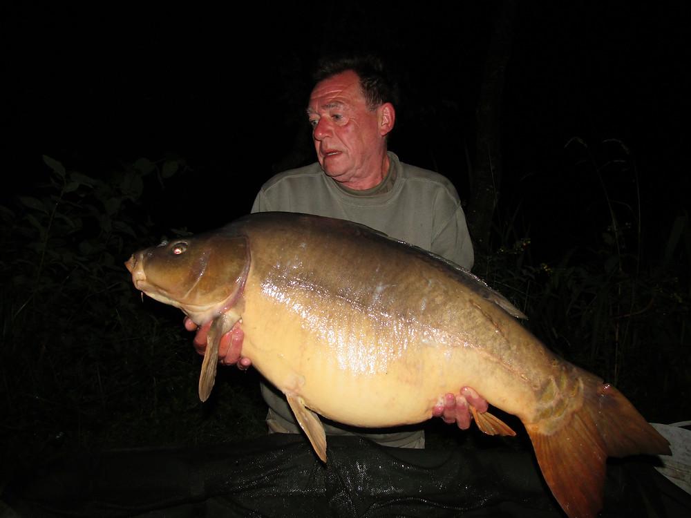 Fishing at Night in France at Les Burons | Carp Fishing Holidays