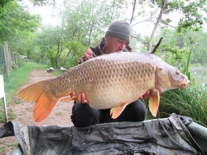 Kevin, Danny and Tony | May 2017 | Les Burons Carp Fishing Holidays