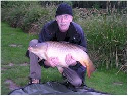 Ivan with 40lb 1oz Common Carp | Carp Fishing at Les Burons