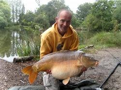 Paul Broke the Lake Record in July 2009 | Les Burons Fishing Holidays