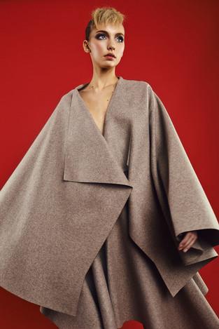 Make up: Anja Skok Fahion designer: Tina Verbič  Photo: Primož Bregar  Hair: Matevž Treven Model: Nika Immortal Model Management