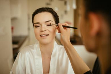 Make up: Anja Skok Foto: Matej in Katarina photography