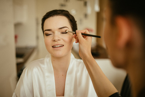Make up: Anja Skok Foto: Matej in Katarina photography