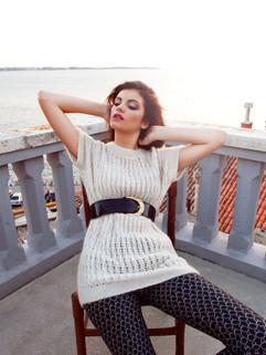 Make up: Anja Skok Hair: Žiga Abram, YMS Styling: Doroteja Šalamun Photo: Al Habjan Model: Lara Oset