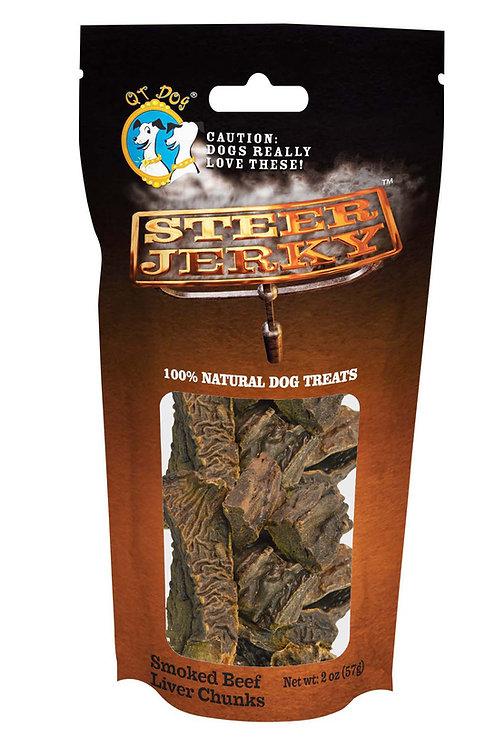 Smoked Beef Liver Chunks