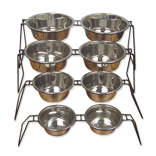 Uniwire Diner w/Stainless Steel Standard Bowls