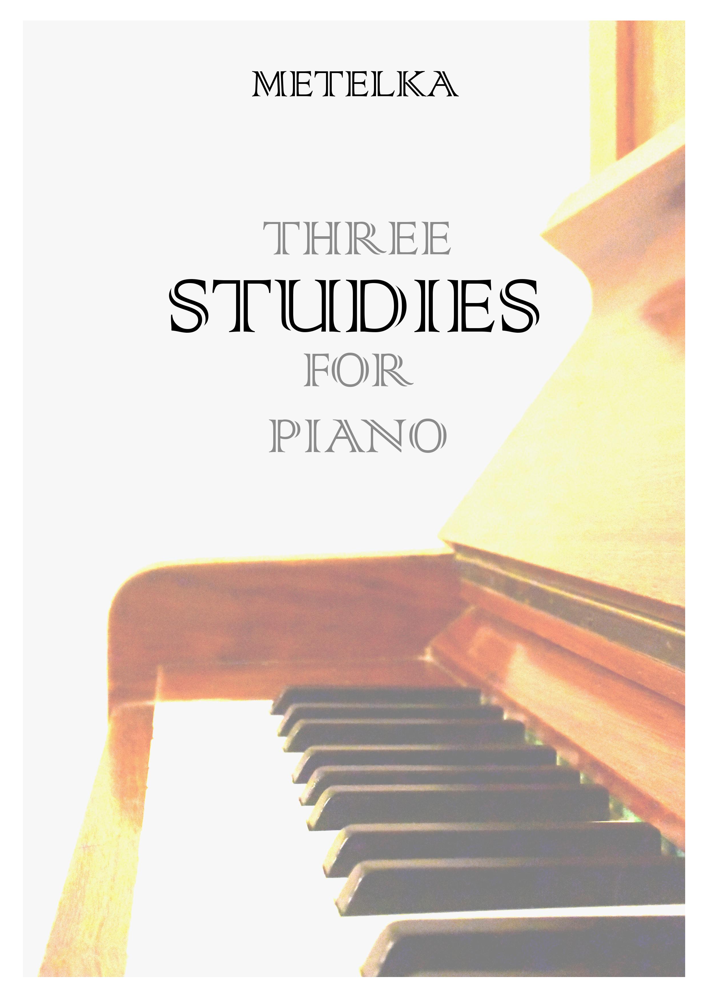 Three Studies for Piano