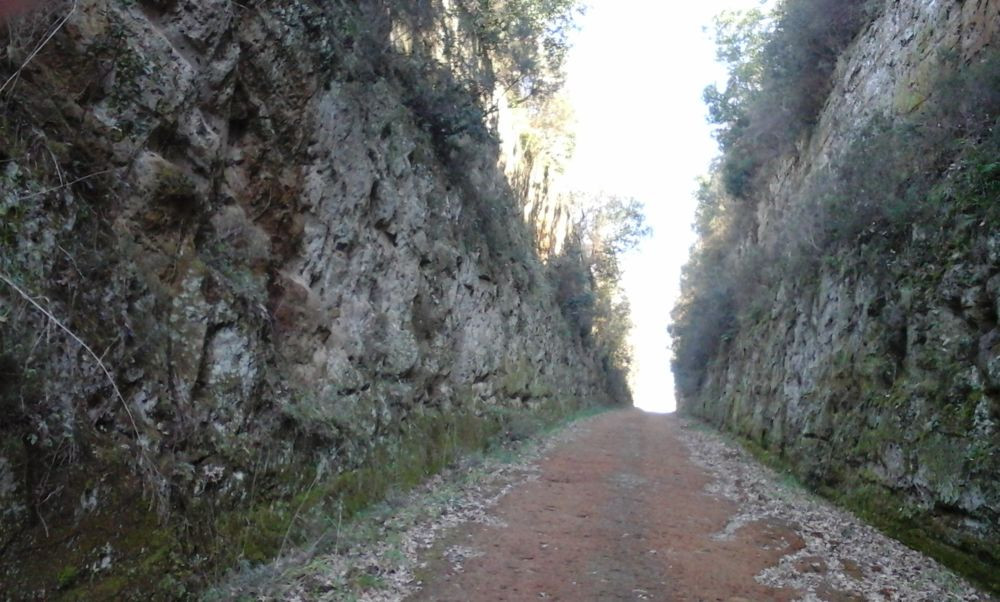 I dintorni - via etrusca verso Sovana.jp