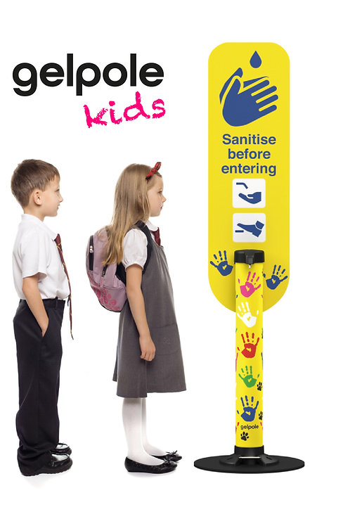 Child Friendly Hand Sanitiser Dispenser- Foot Operated