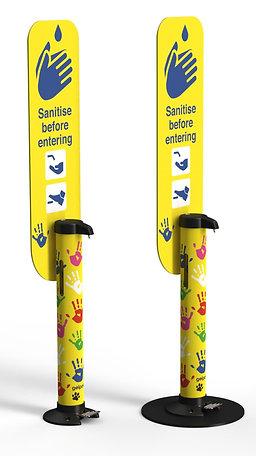 Child Friendly Hand Sanitiser Dispenser- Foot Operated