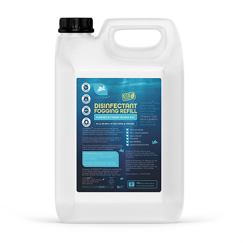 OCEANSAN Eco Friendly Fogging Disinfectant Refill 2.5 litres - Hypoallergenic