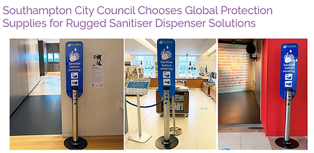 Southampton City Council Sanitiser Dispe