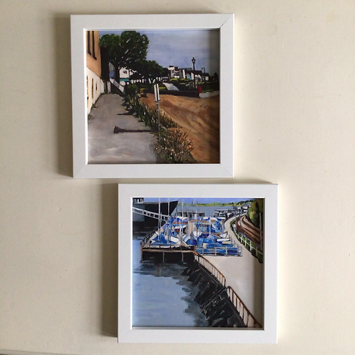 Leigh on sea Cinder path 1 & 2 by Terry Sibson