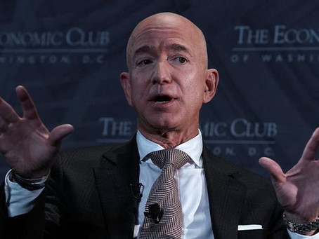 Jeff Bezos Steps Down as the CEO of Amazon