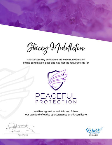 Stacey Middleton - Peaceful Protection C
