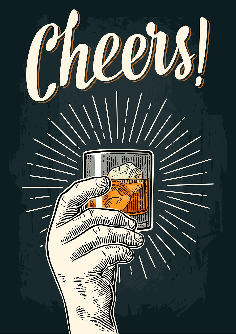 Alcohol cheere pic