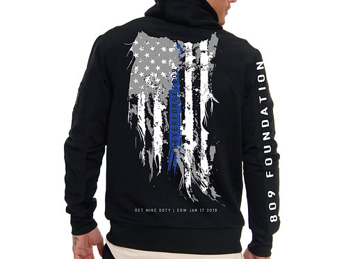 Adult Distressed Flag Sweatshirt