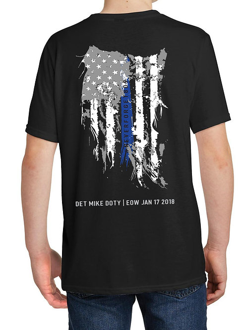 Youth Distressed Flag T-shirt