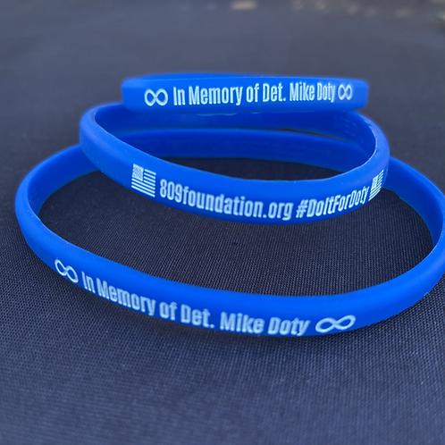 Skinny silicone bracelets