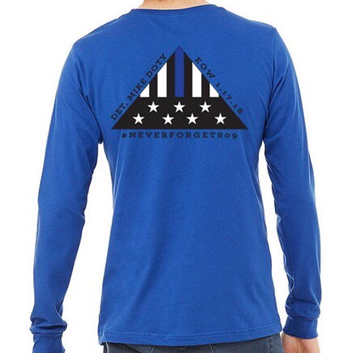 Folded Flag long sleeve tee