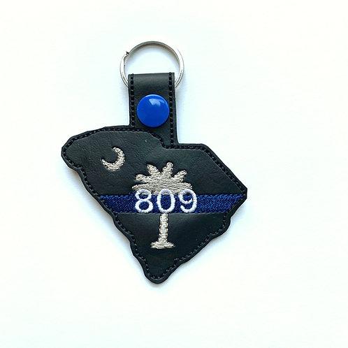 809 S.C. keychain