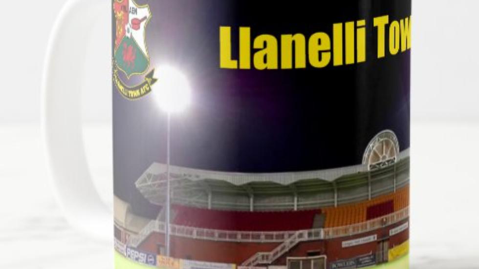 Llanelli Town AFC Stadium Mug