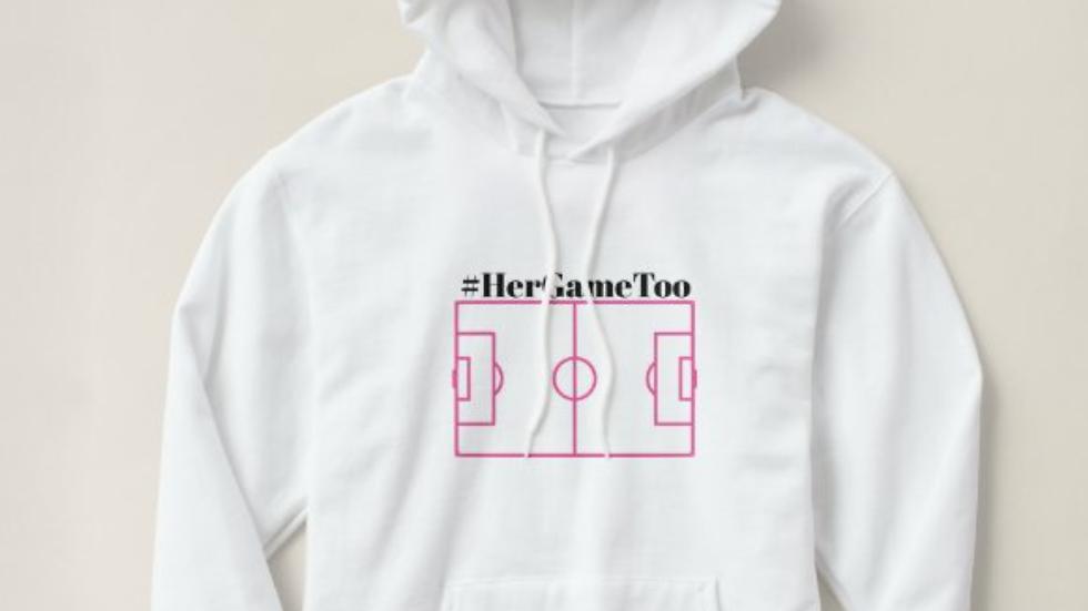 #HERGAMETOO Pitch Hoodie
