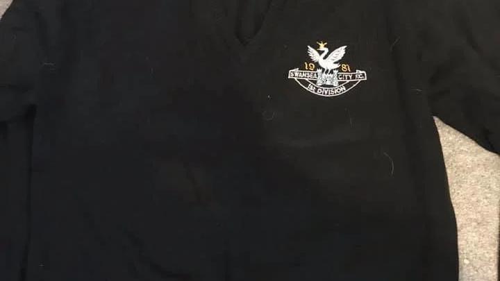 Swansea 1981 Promotion Jumper