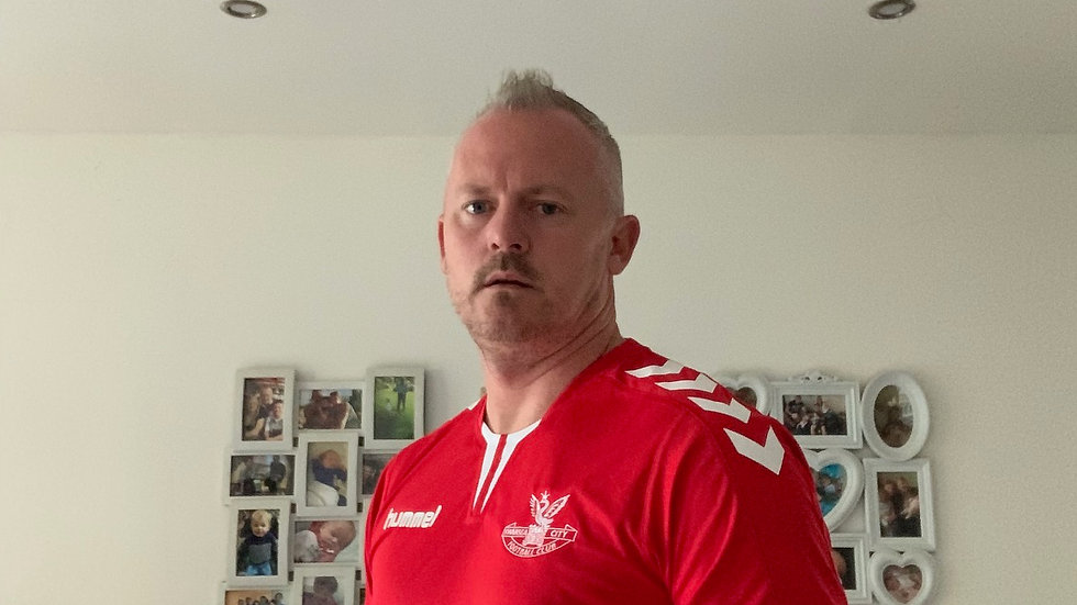 Swansea Hummel Red DP Shirt