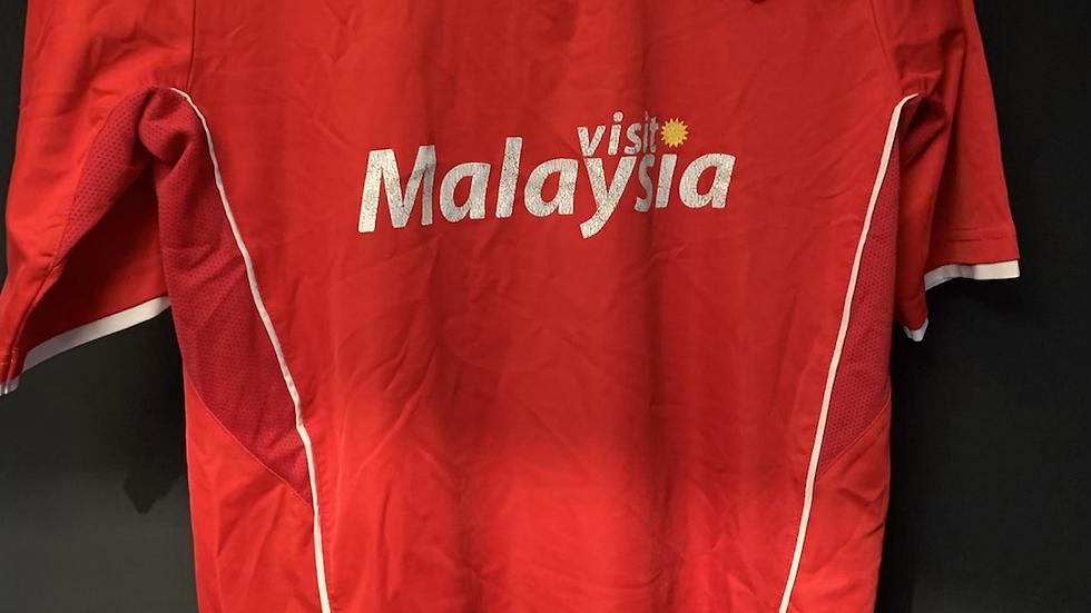 Cardiff city home shirt size medium