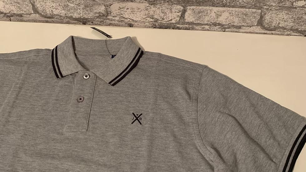 YJB polo shirt grey