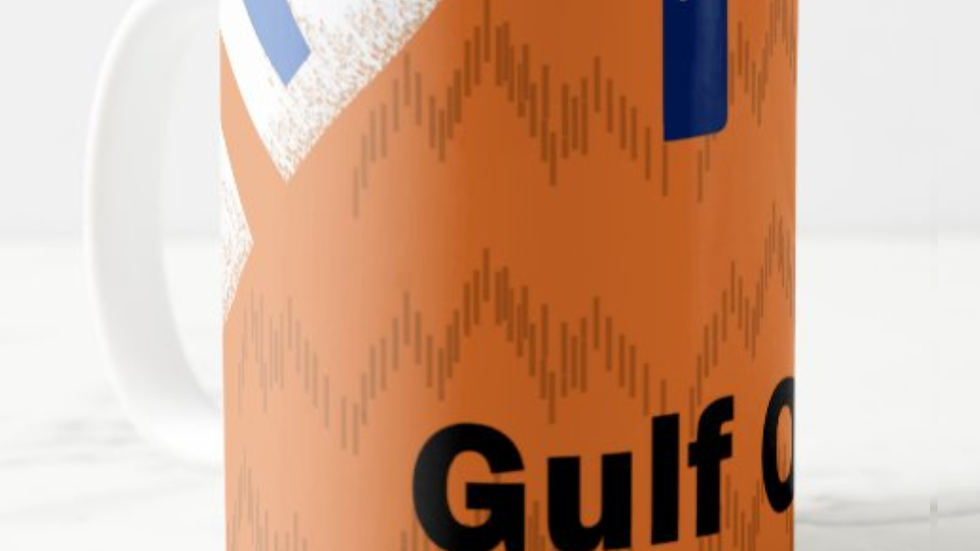 Swansea Gulf Oil Orange