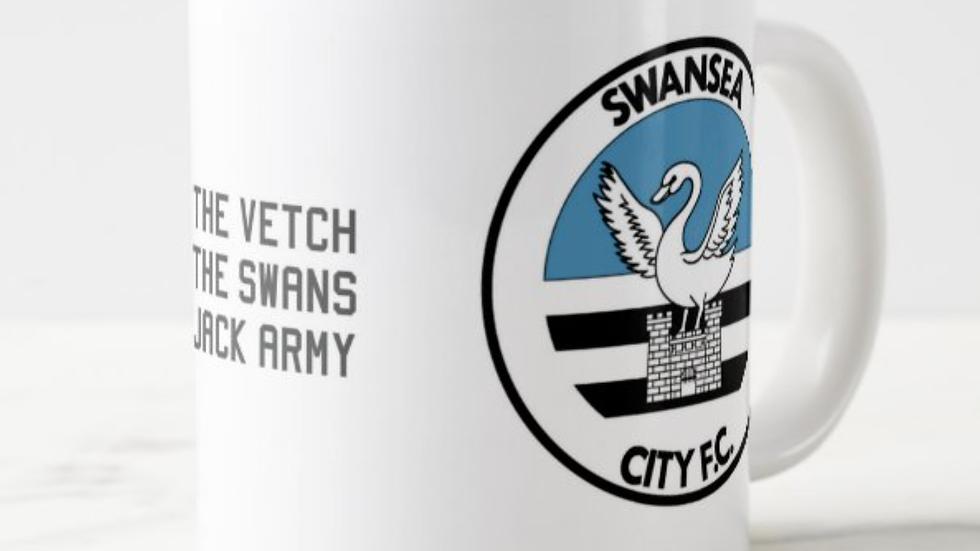 The Swans Retro Mug