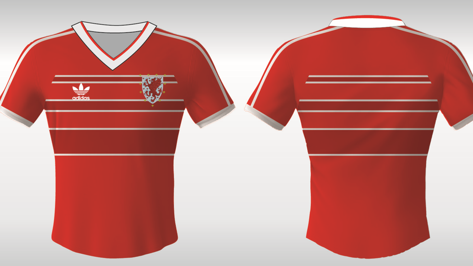 Pre Order - Wales 1980s home